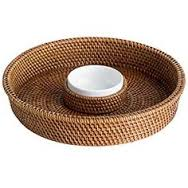 Rattan Chip and Dip