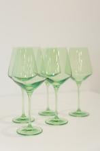 Estelle Glassware Mint Wine, Set of 2