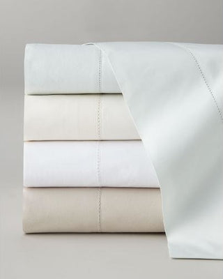 Pine Cone Hill Queen Classic Hemstitch Sheet Set, White