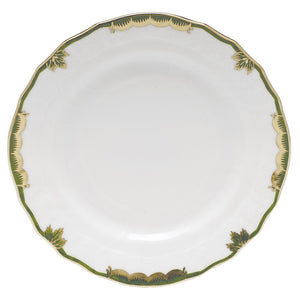 Herend Princess Victoria Bread & Butter Plate, Dark Green