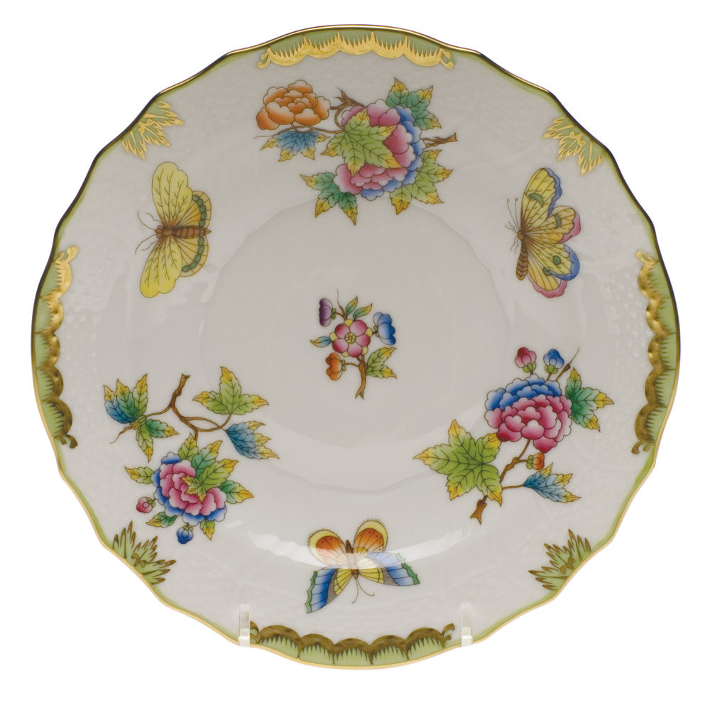 Herend Queen Victoria Salad Plate, Green