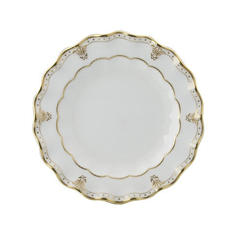Royal Crown Derby Elizabeth Gold Salad Plate