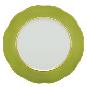 Herend Service Plate, Olive