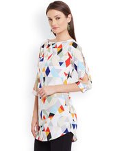 Load image into Gallery viewer, Queen ellie Multicoloured Printed Kurti
