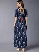 Load image into Gallery viewer, Queen ellie Printed Aline Midi Dress