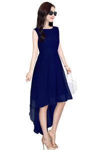Queen ellieLong ruhaans Navy Blue Dress
