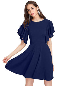 Queen ellie Women's Knee Length Dress.