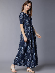 Queen ellie Printed Aline Midi Dress
