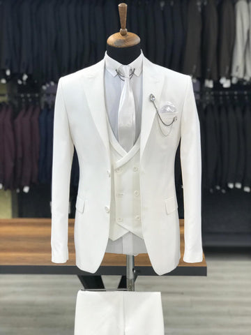 White Quality Suit
