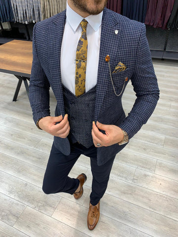 Milano Navy Suit