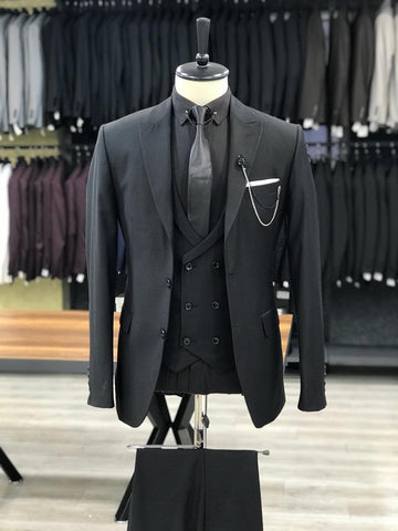All Black Heritage Suit