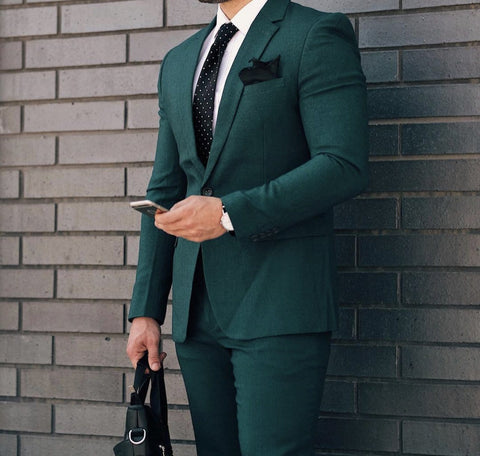 Green Quality Blazer