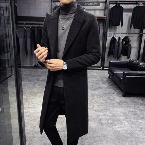Guvi Slim Fit Coat