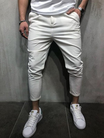SLIM CASUAL PANTS