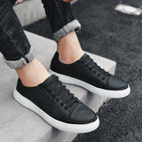 Casual Breathable White Sneakers