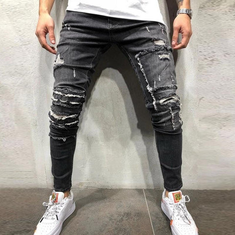 Destoyed Slim Fit Jeans