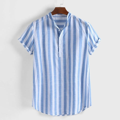 Camisa Slim Fit Striped Shirt