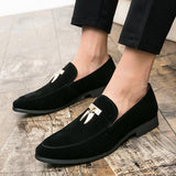SUEDE FORMAL SHOES