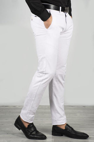 Ecru Italian Cut Pants