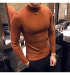 STAND COLLAR TURTLENECK SWEATER