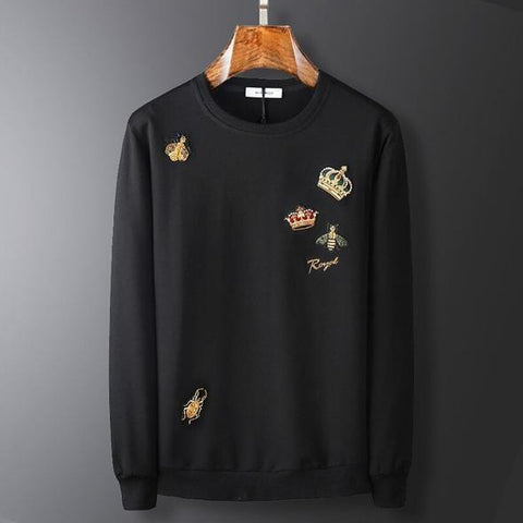 Royal Black Sweatshirt