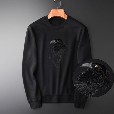 Corvus Black Sweatshirt
