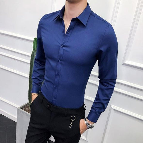 Blue Business Shirt