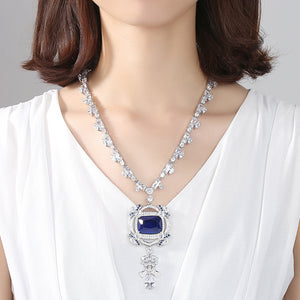 Titanic Love of the Ocean Rodium Plated Necklace