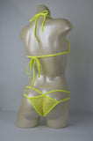 Solid Mesh Neon Yellow Viper