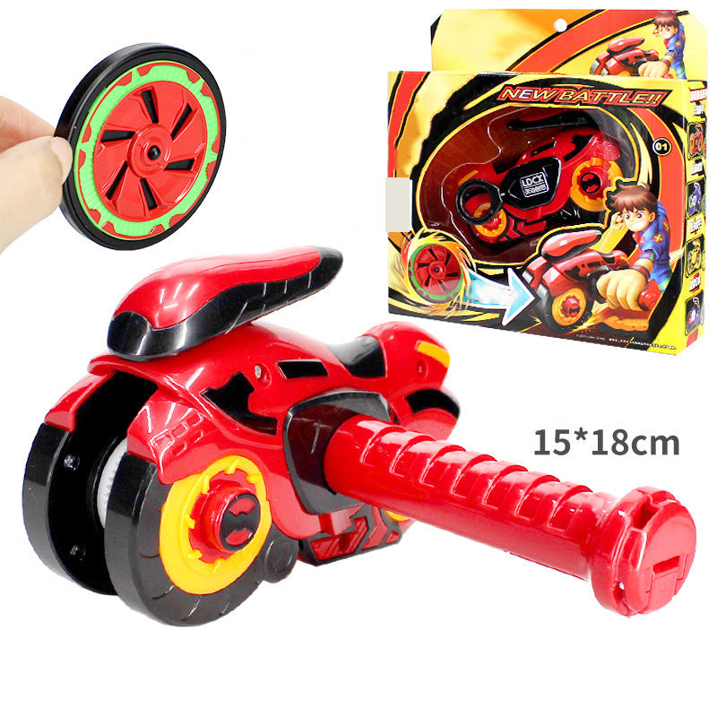 Spinning Action Motorcycle Battle Toy | kidzful