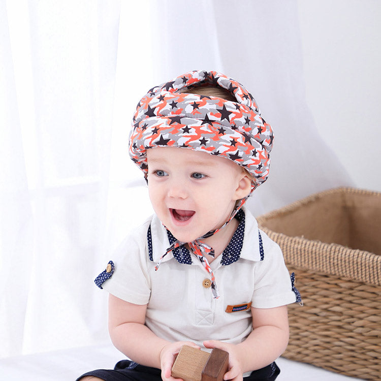 Head Protection Helmet Cap for Walking | kidzful