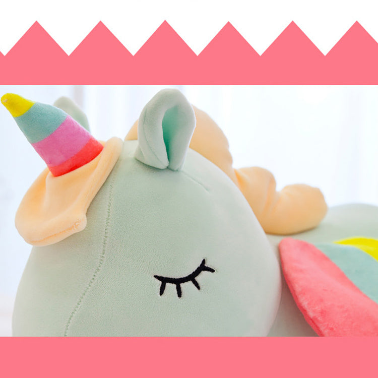Cute Soft Unicorn Plush Stuffed Animal | kidzful