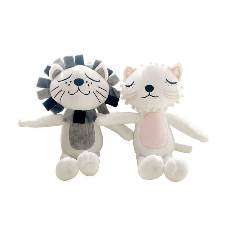 Lion & Cat Stuffed Plush Toy | kidzful