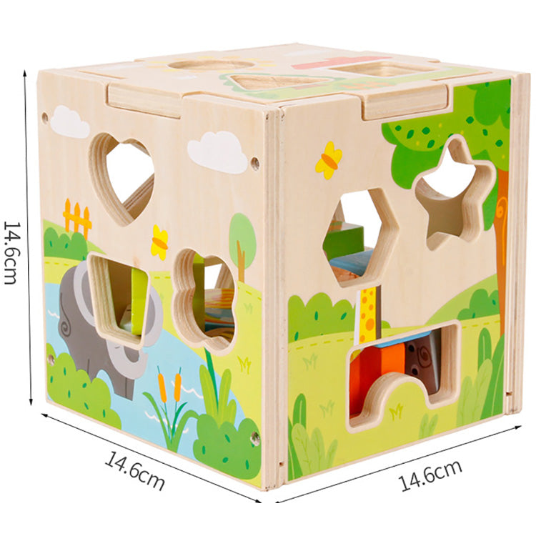 Five Sides Box Cognitive Matching Puzzle | kidzful