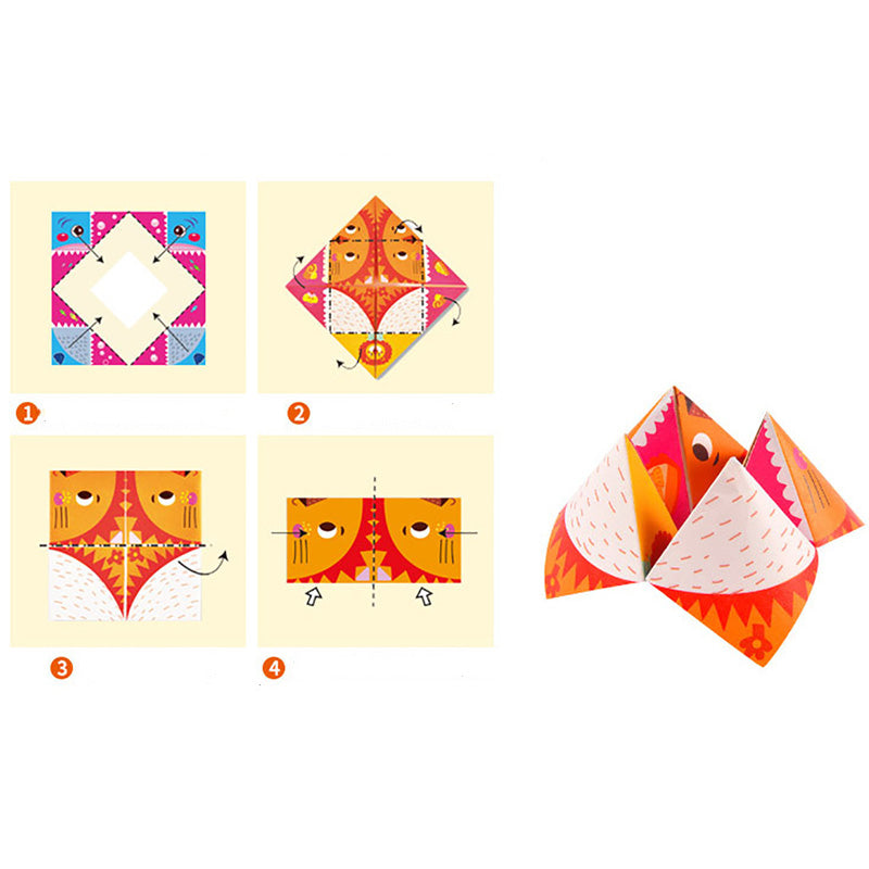 DIY 3D Paper Art Craft Origami | kidzful