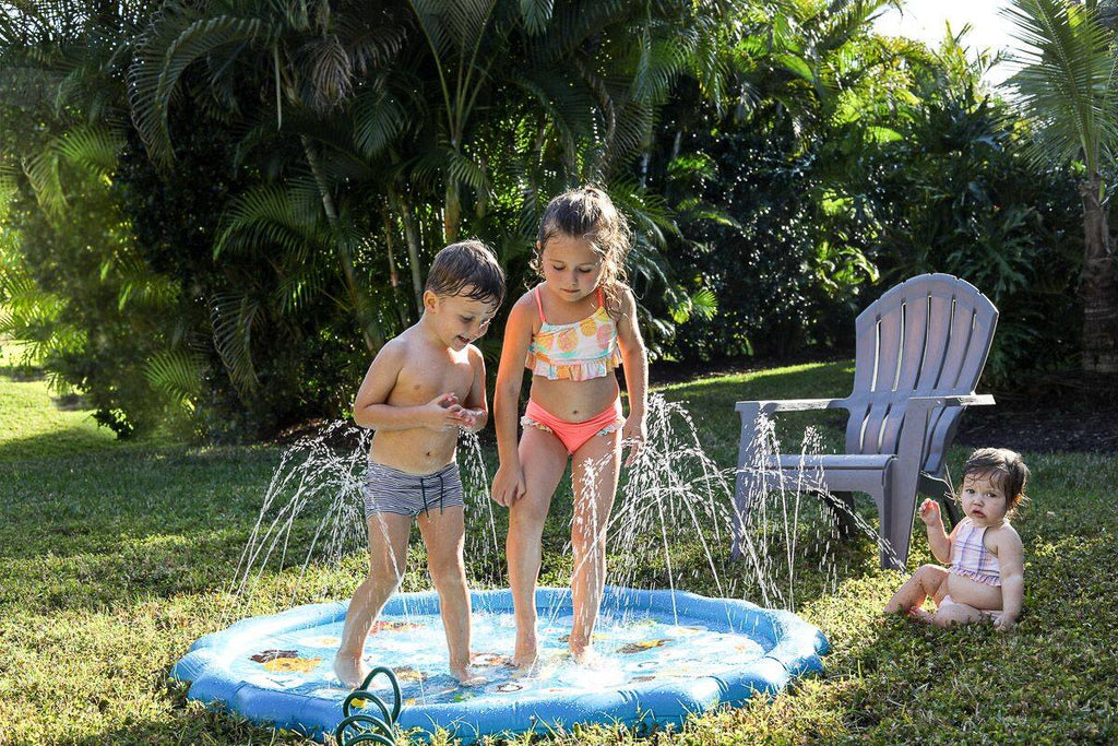 Summer Best Seller - Splash Pad & Sprinkler Pool | kidzful