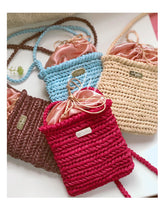 Load image into Gallery viewer, Raffia Shoulder Bag