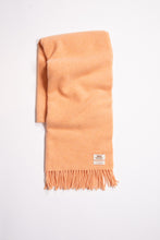 Load image into Gallery viewer, Hettie Wool Scarf Lt Peach Mel