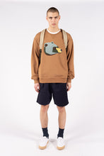 Load image into Gallery viewer, Teddybear Sweatshirt Camel Beige