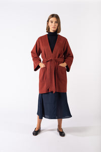 Jessie Robe Red