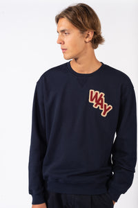 Way Sweatshirt Eternal Blue