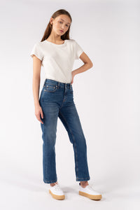 Vittangi Cropped Jeans Air Blue