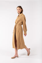 Load image into Gallery viewer, Teja Trench Dune Beige