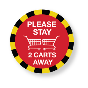 Stay 2 Carts Away