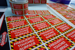 Frequently Touched Sticker