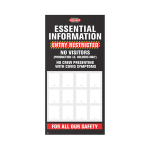 Muster Station - Essential Information