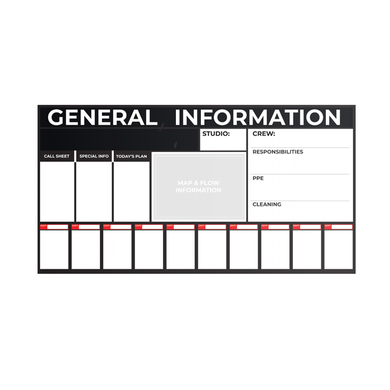 Muster Station - General Information