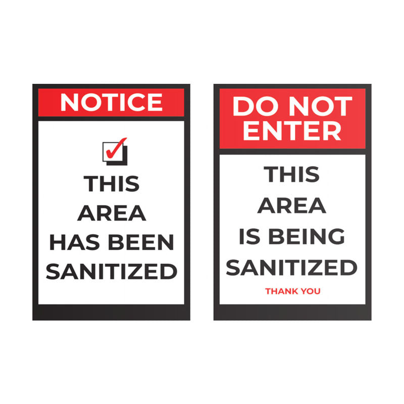 Sanitized Area