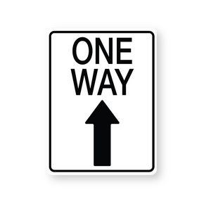 One Way with Arrow