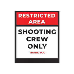 Restricted Area - Crew Only